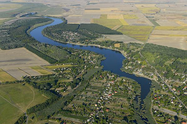Szelidi-tó_légi_felvételen